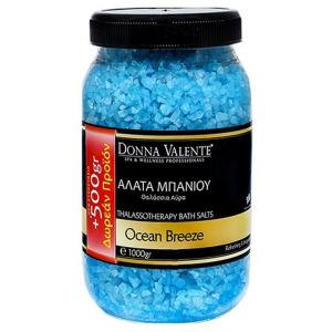 Donna Valente Thalassotherapy Bath Salts Ocean Breeze, 1000gr