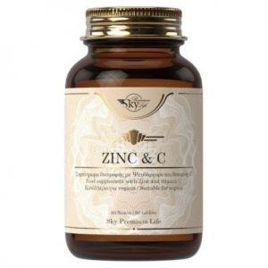 Sky Premium Life Zinc & Vitamin C, 60tabs