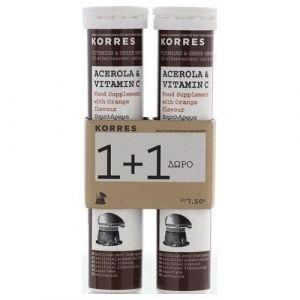 Korres Acerola & Vitamin C, 2x18eff.tabs