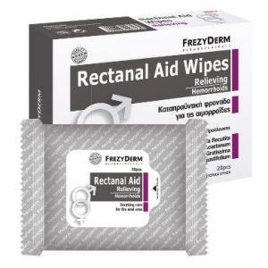 Frezyderm Rectanal Aid Wipes, 20τμχ