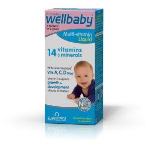 Vitabiotics Wellbaby Infant Liquid, 150ml