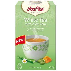 Yogi Tea White Tea Aloe Vera, 17Φακελάκια