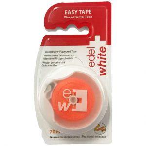 Edel White Easy Tape Waxed Dental Tape, 70m