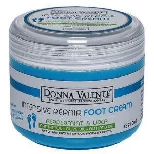 Donna Valente Intensive Repair Foot Cream, 210ml