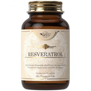 Sky Premium Life Resveratrol, 60caps