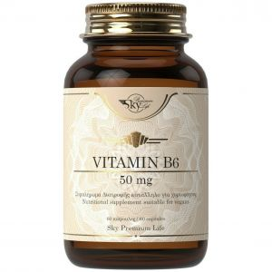 Sky Premium Life Vitamin B6 50mg, 60caps