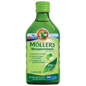 Moller's Cod Liver Oil Apple Flavour, 250ml