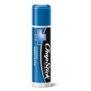 Chapstick Classic Medicated Lip Balm for Lip Health, 4gr