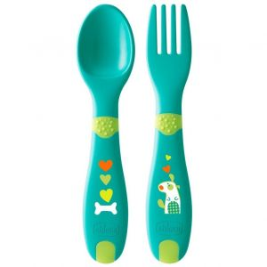 Chicco First Cutlery 12m+, 2τμχ