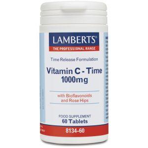 Lamberts Vitamin C – Time Release 1000mg, 60tabs