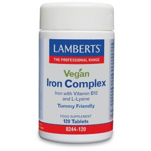 Lamberts Vegan Iron Complex, 120tabs