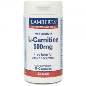 Lamberts L -Carnitine 500mg, 60caps