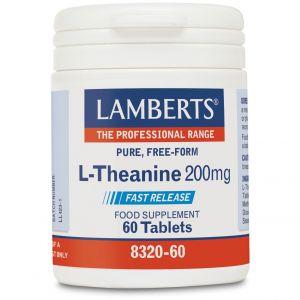 Lamberts L-Theanine 200mg, 60tabs