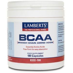 Lamberts BCAA – Branch Chain Amino Acids, 180caps