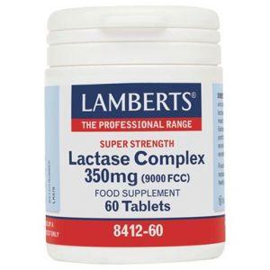 Lamberts Lactase Complex 350mg, 60tabs
