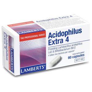Lamberts Acidophilus Extra 4, 60caps