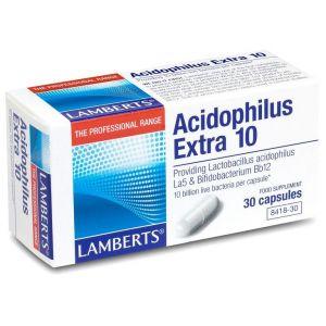 Lamberts Acidophilus Extra 10, 30caps