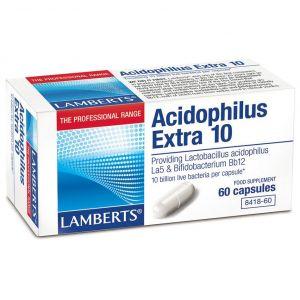 Lamberts Acidophilus Extra 10, 60caps
