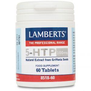 Lamberts 5-HTP 100mg, 60tabs