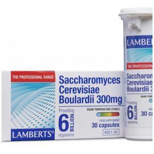 Lamberts Saccharomyces Boulardii 300mg, 30caps