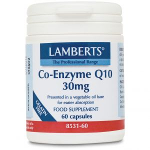Lamberts Co-Enzyme Q10 30mg, 60caps