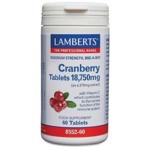 Lamberts Cranberry Tablets, 60caps