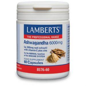 Lamberts Ashwaganda 6000mg, 60caps