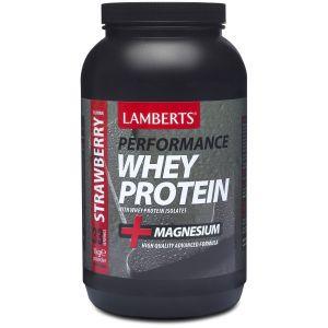 Lamberts Whey Protein Strawberry, 1000gr