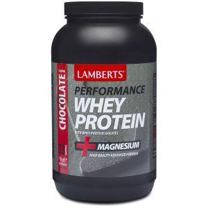 Lamberts Performance Whey Protein Chocolate, 1000gr