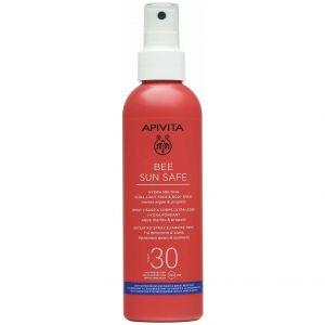 Apivita Bee Sun Safe Hydra Melting Ultra Light Face & Body Spray SPF30, 200ml