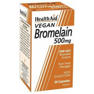 Health Aid Bromelain 500mg, 30veg.caps
