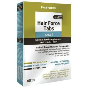 Frezyderm Hair Force Tabs, 60tabs