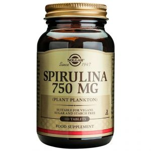 Solgar Spirulina 750mg, 80caps