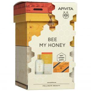 Apivita Bee My Honey Eau de Toilette, 100ml & ΔΩΡΟ Natural Soap With Honey, 125gr
