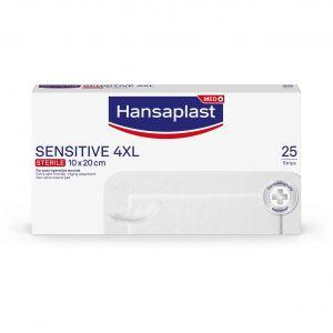 Hansaplast Sensitive 4XL 10x20cm, 25τμχ