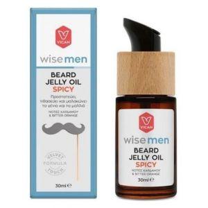 Vican Wise Men Beard Jelly Oil Spicy, 30ml