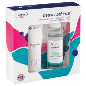 Panthenol Extra CC Day Cream SPF15 Dark light 50ml & True Cleanser 3 in 1 100ml