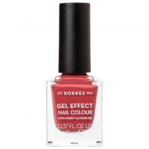 Korres Gel Effect Nail Colour No.49 Moonstone Rose, 11ml