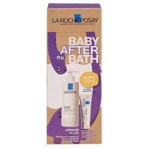 La Roche Posay Promo Eco Pack Baby Bath Lipikar Syndet AP+ Κρέμα Καθαρισμού Κατά Των Ερεθισμών 400ml & ΔΩΡΟ Cicaplast Baume B5 Επανορθωτικό Βάλσαμο Για Τους Ερεθισμούς 15ml
