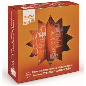 Intermed Luxurious Sun Care Pack Face & Body με Αντηλιακή Κρέμα Προσώπου SPF50+, 75ml & Αντηλιακό Σώματος SPF50+, 200ml