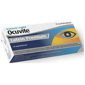 Ocuvite Lutein Premium Συμπλήρωμα Διατροφής για Οφθαλμική Υγεία & Φυσιολογική Όραση, 30tabs