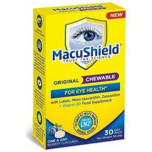 Macushield Original Συμπήρωμα Διατροφής για την Υγεία των Ματιών με Βιταμίνη Β2, 30 μασώμενα δισκία