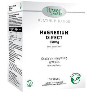 Power Health Power of Nature Platinum Range Magnesium Direct 350mg, 30 Sticks